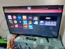 """Smart Tv 43"""" AOC Wi-Fi Integrado NOVA ENTREGO"""