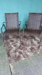 Cadeira romana em junco sintético 110 cada