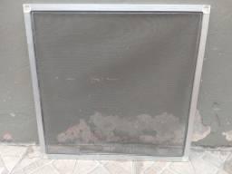 Título do anúncio: Tela de mosquiteiro com esquadrias de alumínio 58x58