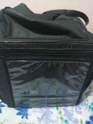Bag para motoboy com suporte de açaí