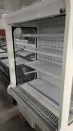 Expositor aberto para frios e bebidas seminovo *douglas