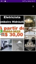 Título do anúncio: Bombeiro hidráulico Eletricista Menor Preco