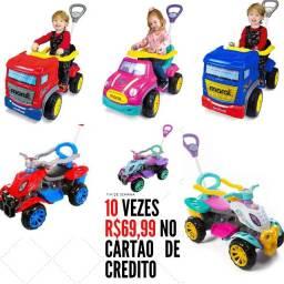 Título do anúncio: Carrinho de Passeio Infantil  com Pedal 10 vezes  R$69,99 no cartão