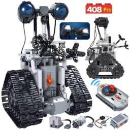 Robô elétrico de Lego controle remoto 408 peças - Distração para criançada na quarentena