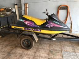 Título do anúncio: Jet Ski Sea Doo SPX 800 2T