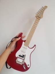 Título do anúncio: Guitarra Eletrônica Infantil