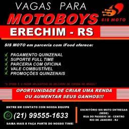 Título do anúncio: Entregas em Erechim