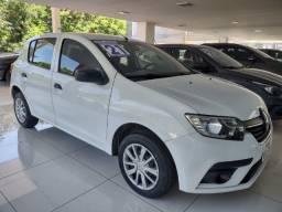 Renault Sandero Life  1.0 !!! IPVA 2021 Pago