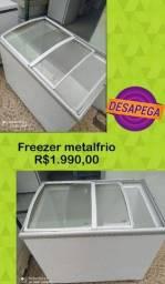 Título do anúncio: Freezer Expositor Chame no zap ou ligue não permaneço na conta