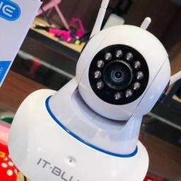 Título do anúncio: Câmera Ip 3 Antenas com visão noturna e sensor de presença