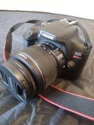 Câmera Cannon T6 + lente 18-55mm