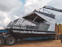 Fabricação de flutuantes