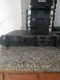 Potencia Crest Audio 6001 crow QSC Tip Technovox