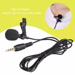 Microfone de lapela exclusivo p celular/smartphone