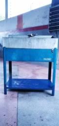 Máquina para limpeza de peças