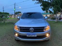 Título do anúncio: Caminhonete Volkswagen Amarok 2.0 SE 4x4 TDI 4Motion 2013 - Revisado