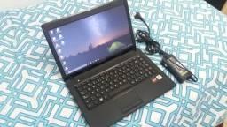 Notebook c/ garantia Lenovo G475, DualCore C50, 04Gb, HD 320Gb Zap na descrição