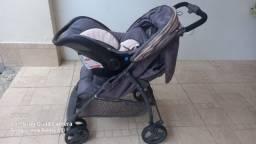 Carrinho + Bebê Conforto Galzerano Novo
