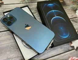 Título do anúncio: iPhone 12 Pro Max Azul 256GB [a pronta entrega]