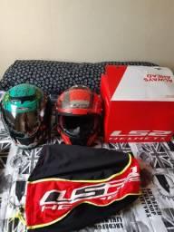 Capacete ls2  capacete prototk