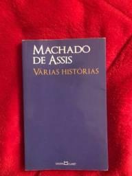 Título do anúncio: livro várias histórias- Machado de Assis