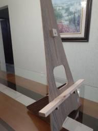 cavalete de pintura prático, desmontável, usado