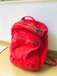 mochila kipling original vermelha