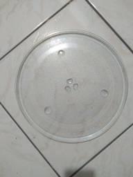 Título do anúncio: Prato de micro-ondas 36cm