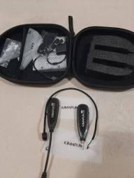 Kimafun km-g100 2.4g Microfone Sem Fio