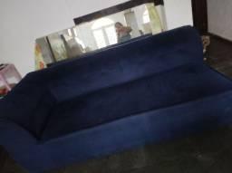 Sofá azul marinho Suede