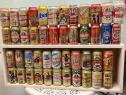 Coleção de latas Brahma