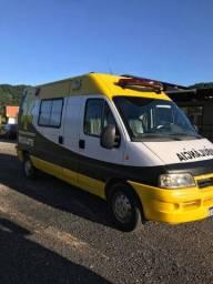 ambulância resgate ducato 2012