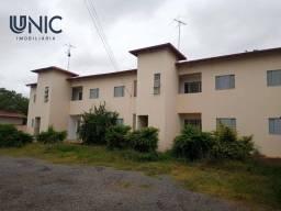 Apartamento com 2 dormitórios para alugar, 52 m² por R$ 650,00/mês - Jardim Panorama - Mon