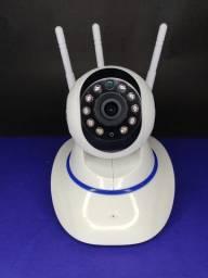 Câmera IP interna funciona no wi-fi sem cabos