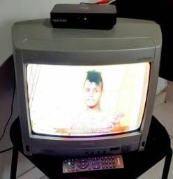TV E conversor digital juntos