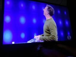 TV LG 42p. LED apenas $400 com apenas uns chuvicos talvez seja a antena