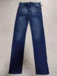 Título do anúncio: Calça jeans juvenil Tam 16