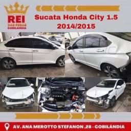 Título do anúncio: Sucata Honda City 1.5 2014/2015