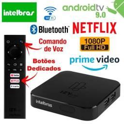 Tv Box Smart Intelbras Izy Play Android Tv Smart Tv