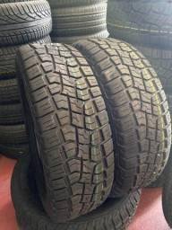 Título do anúncio: 2 pneus Tekystyre 205/65/15 (montagem grátis)