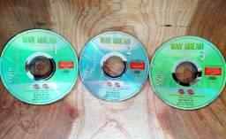 CD's MOP On The Move 1, 2 e 3 - Nível Intermediário CCAA