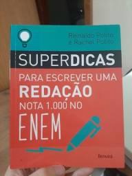 Livro - Superdicas para escrever uma redação nota 1000 no ENEM