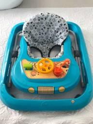 Andador pouco usado, marca Tutti baby
