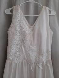 Vestido longo N.42 branco