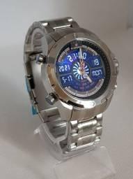 Relógio Masculino Naviforce - Digital e Analógico - Novo