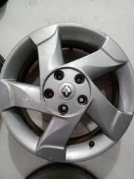 Rodas do Renault Duster Orock aro 16 originais