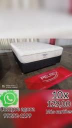 Título do anúncio: cama e colchão D 65 promoção hoje