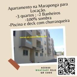 RT-Apartamento para locação na Maraponga, ótima localização