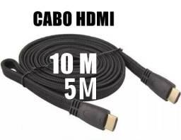 Título do anúncio: Cabo Hdmi de 5 e 10 metros, leia os valores