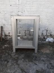Pra troca Viveiro gaiola alumínio e vidro aceito troca